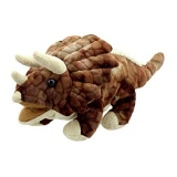 The Puppet Company - Baby Dino Triceratops Puppet (Brown)